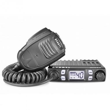 Statie radio CB Avanti Micro cu putere reglabila