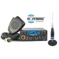 Pachet Statie CB Hoffman H226 ASQ si Antena Megawat ML 145
