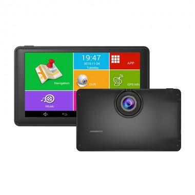 """Navigatie GPS TECHSTAR M18X 7"""" 8GB cu DVR FullHD, Bluetoototh si WiFi"""