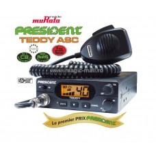Statie CB President Teddy ASC AM FM muRata model 2018 Export