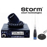 Storm Master ASQ putere reglabila 4W-35W pachet cu antena